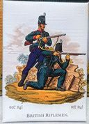 British Riflemen Fridge Magnet